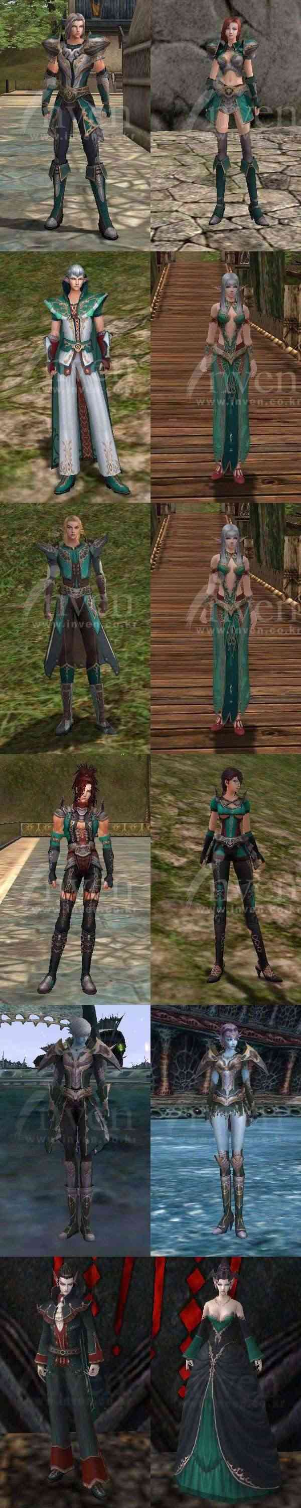 Rohan all class suit preview (completed) Elven10