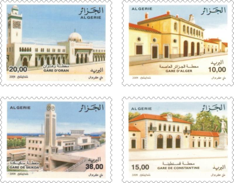"""Emission """"Gares d'Algérie"""" du 09 Juillet Timbre10"""