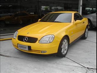 SLK230 1998 amarela Merced14