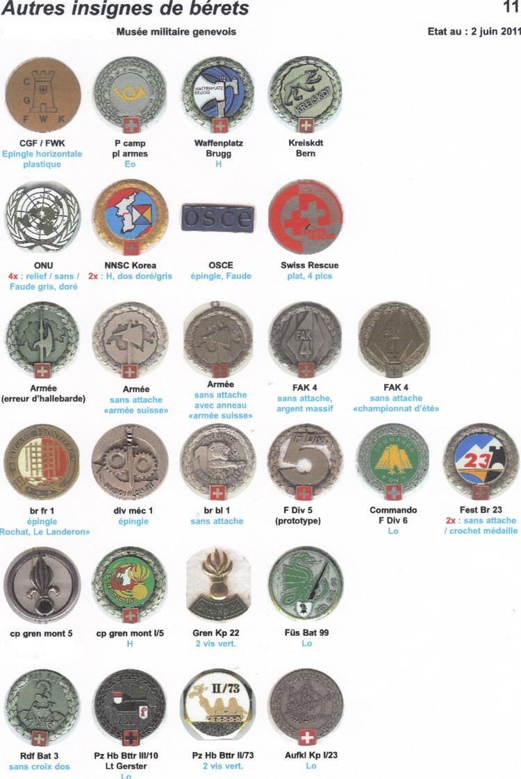 insignes de beret 10014