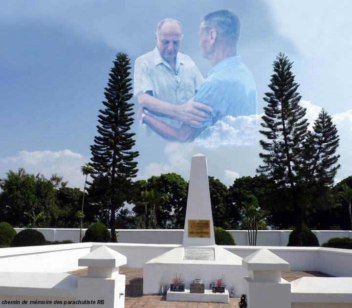 Le général Bigeard et le légionnaire Rolf Rodel à Dien Bien Phu 1_bige10