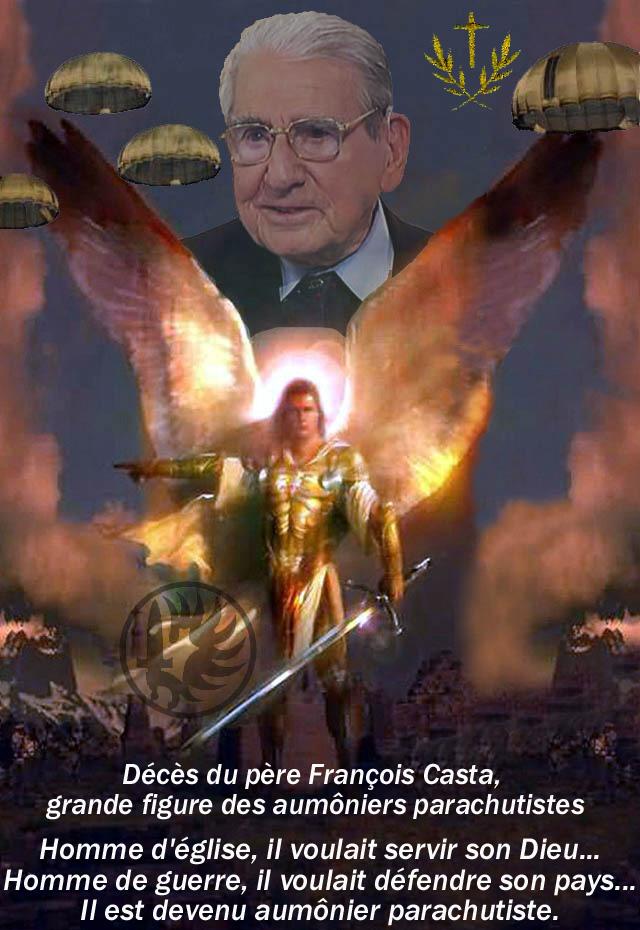 """CASTA François: """"L'épée et la croix""""... 89 ans, il a vécu la Seconde Guerre mondiale, l'Indochine, l'Algérie. Il est à la fois corse, prêtre, et fut officier parachutiste 1_foru12"""