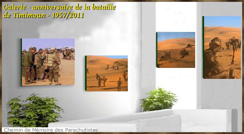 Galerie anniversaire de la bataille de Timimoun 1957/2011 1cmp10