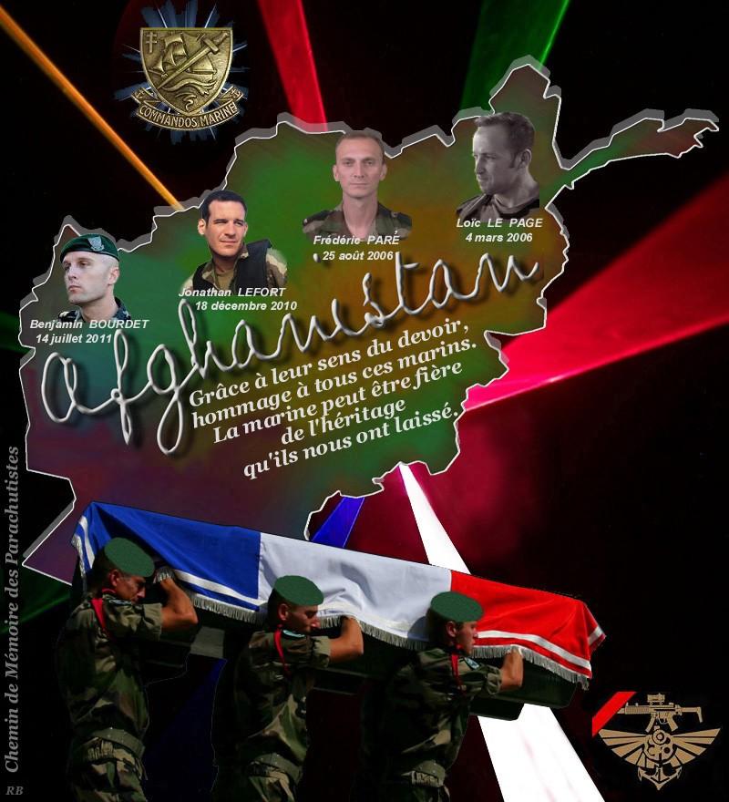 Commandos marine tombés au champ d'Honneur en Afghanistan 2_chem10