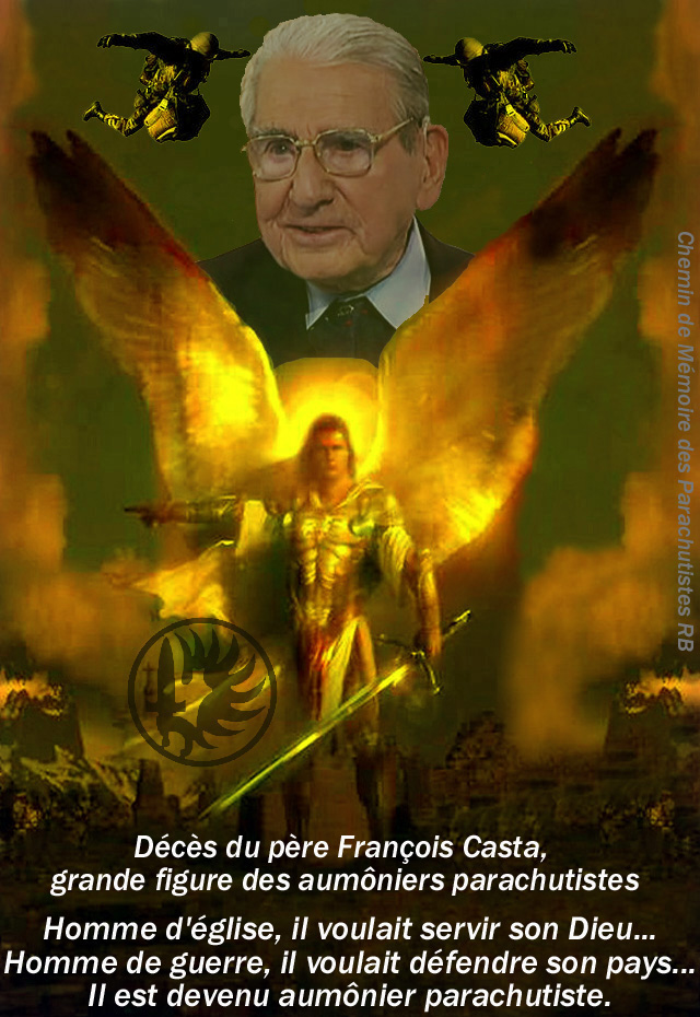 Le père Casta, Aumonier, officier parachutiste n'est plus  2_foru12