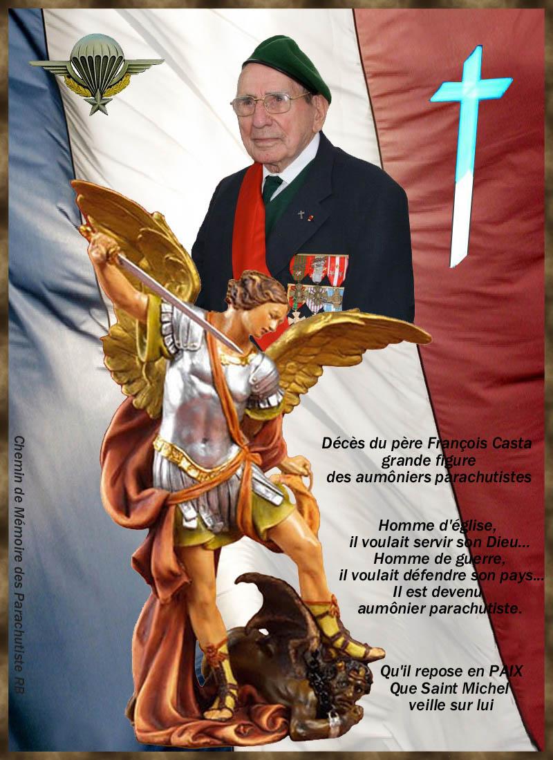 """CASTA François: """"L'épée et la croix""""... 89 ans, il a vécu la Seconde Guerre mondiale, l'Indochine, l'Algérie. Il est à la fois corse, prêtre, et fut officier parachutiste 5_foru10"""