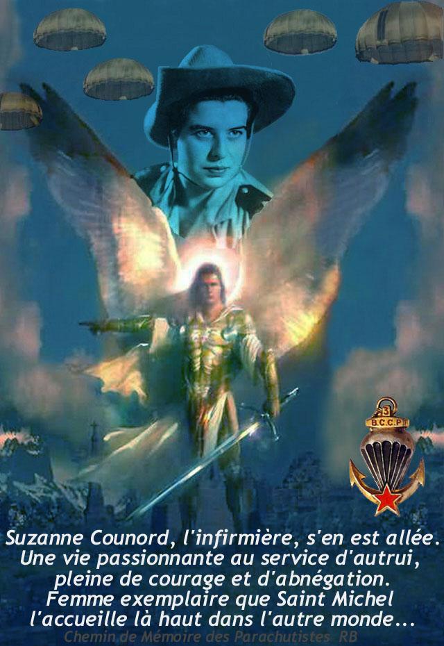 COUNORD Suzanne, l'infirmière parachutiste en Indochine, s'en est alllée Forump11
