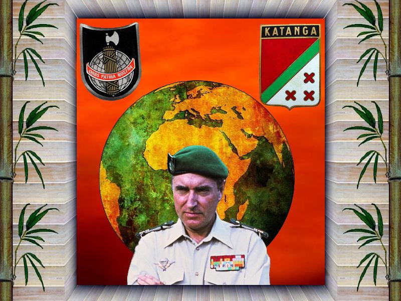 Bob Denard parcours d'un Mataf hors normes, Katanga,Yémen etc... Plaque10