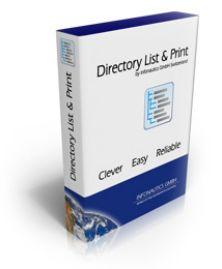 حصريا تحميل برنامج ترتيب أوراقك في قائمة لطباعتها أوتوماتيكيا Directory List and Print Pro 2.12.5.24 Direct10