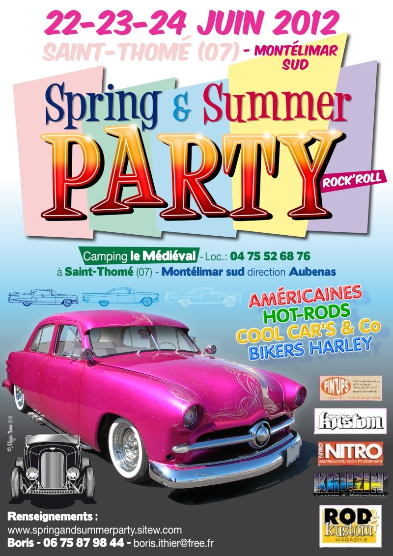 Spring and Summer Party IV  in Rhône Valley June 2012 Affich10