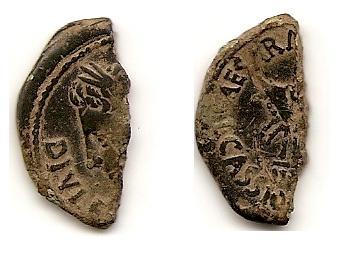 As de Augusto de Colonia Caesaraugusta (Zaragoza) Iberic10