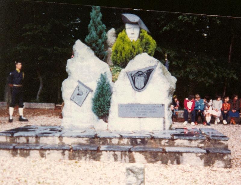 Monuments du 13°BCA de BROCOURT (80) 1610