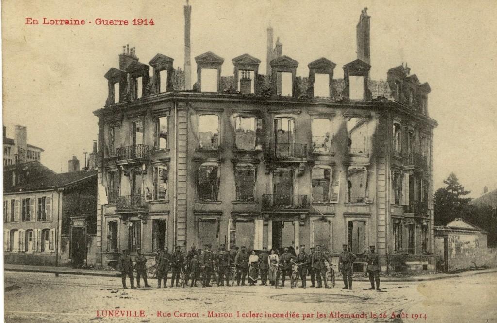 Lunéville 1914 Lyon_157