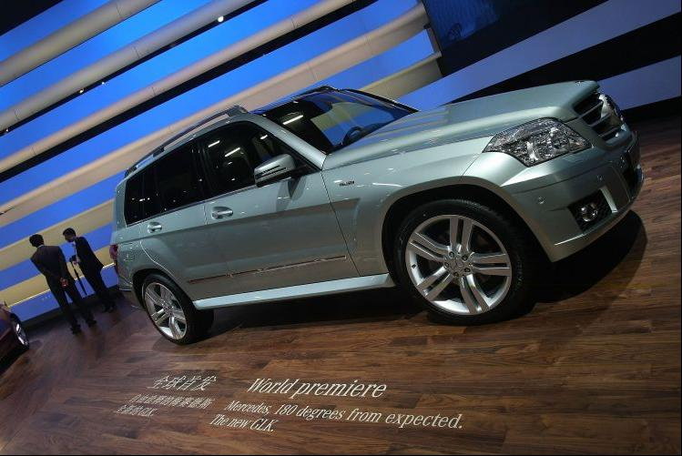 Mercedes-Benz GLK no Auto China 2008 Sem_ti11