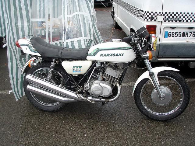 Kawasaki S1 Cafe Racer by Twinline 61619510