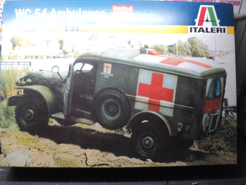 "WC 54 AMBULANCE  ""1/35"" Dsc01020"
