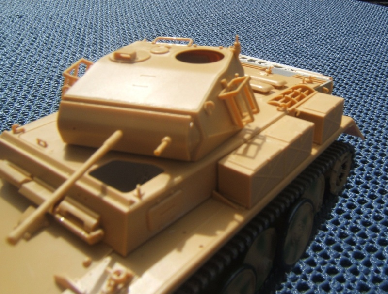 "Panzer II ""Lusch""  Tasca 1/35 Peinture terminée Dscf6525"