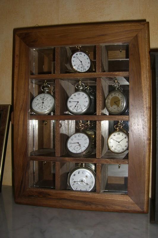Le bricolage du 1er Mai..... Idée pour fabriquer une boite à montre Cimg6822