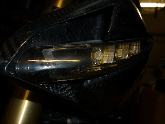 Clignotant AV à LED sur les TNT Cligno11