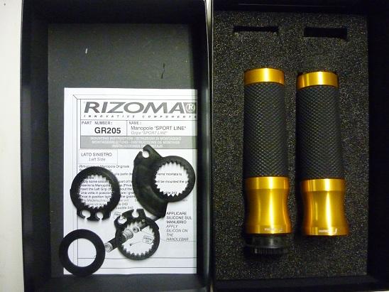 poignées Rizoma Sportline or P1060317