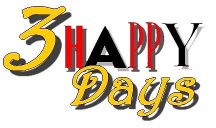 3 HAPPY Days 3hd210