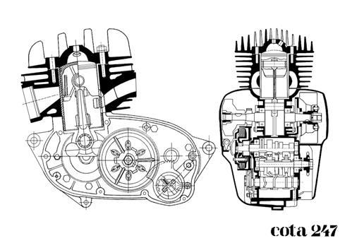 Montesa Cota Mécanique  Seccio10