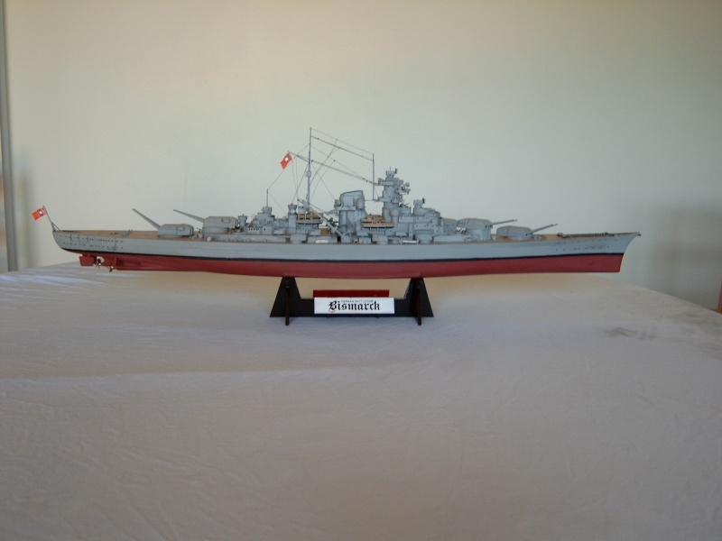 Cuirassé Bismarck 1.350ème - Tamiya 1_bism10