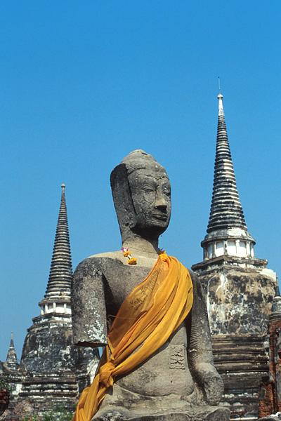Les temple d'Ayutthaya, Thaîlande Ayutha10