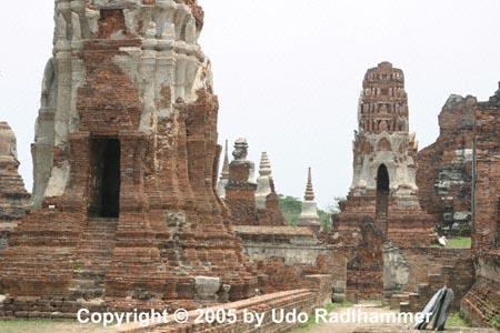 Les temple d'Ayutthaya, Thaîlande Ayutha12