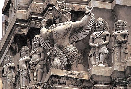 Les temple d'Ayutthaya, Thaîlande Garuda10