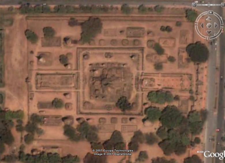 Les temple d'Ayutthaya, Thaîlande Mahath10