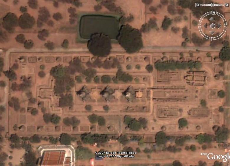 Les temple d'Ayutthaya, Thaîlande Sisanp10
