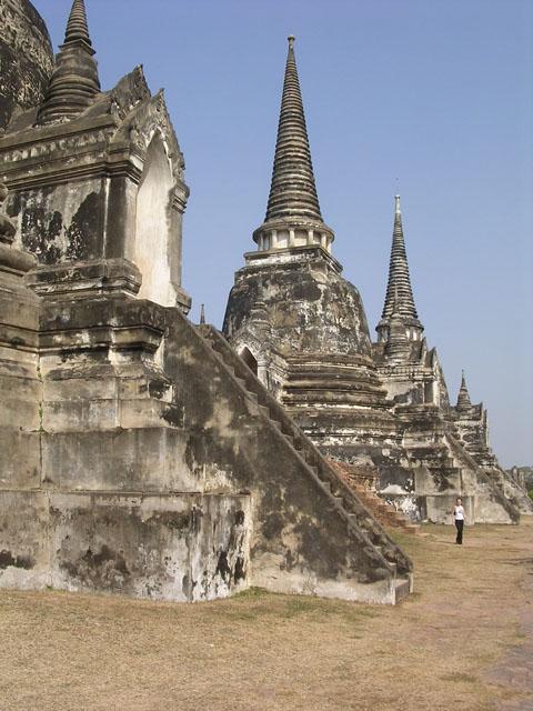 Les temple d'Ayutthaya, Thaîlande Wat_ph10
