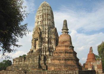 Les temple d'Ayutthaya, Thaîlande Watrat10