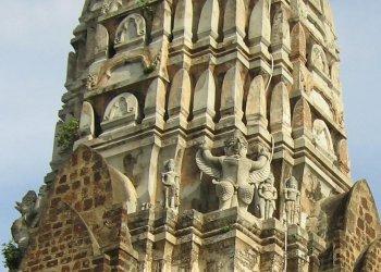 Les temple d'Ayutthaya, Thaîlande Watrat11