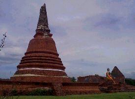 Les temple d'Ayutthaya, Thaîlande Way_no10