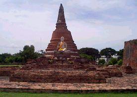 Les temple d'Ayutthaya, Thaîlande Way_no12
