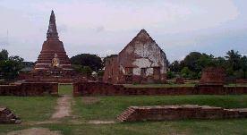 Les temple d'Ayutthaya, Thaîlande Way_no13
