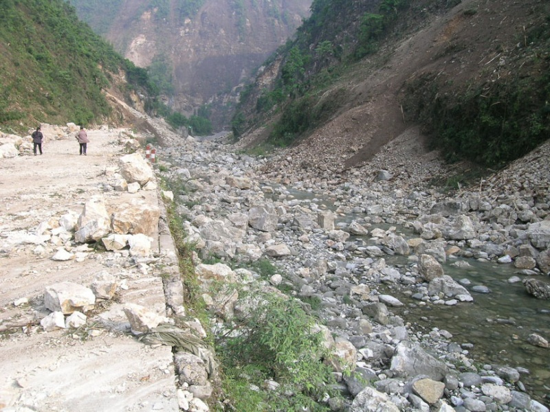 Tremblement de terre en Chine Dscn2631