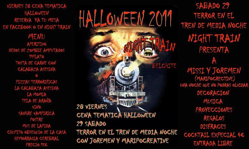 Noches tematicas de Halloween 28 al 31 de octubre en Night  Wallow10