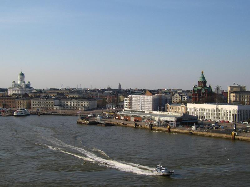 [Finlande] - Le port sud d'Helsinki 11201810