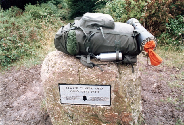 La Digue d'Offa (Offa's Dyke), frontière entre l'Angleterre et le Pays de Galles 18774210