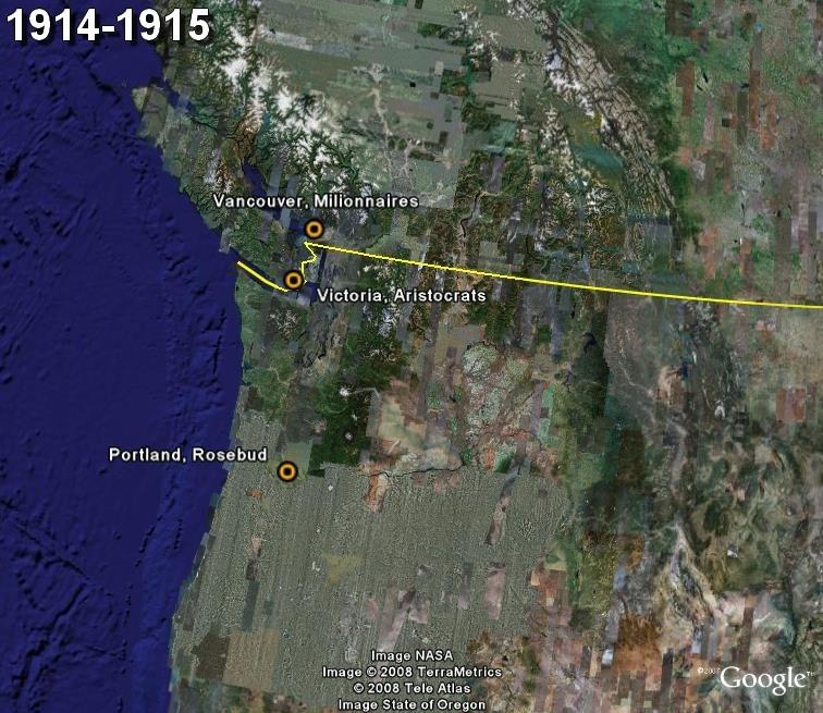 La saga du HOCKEY pro en Amérique du Nord  1914-110