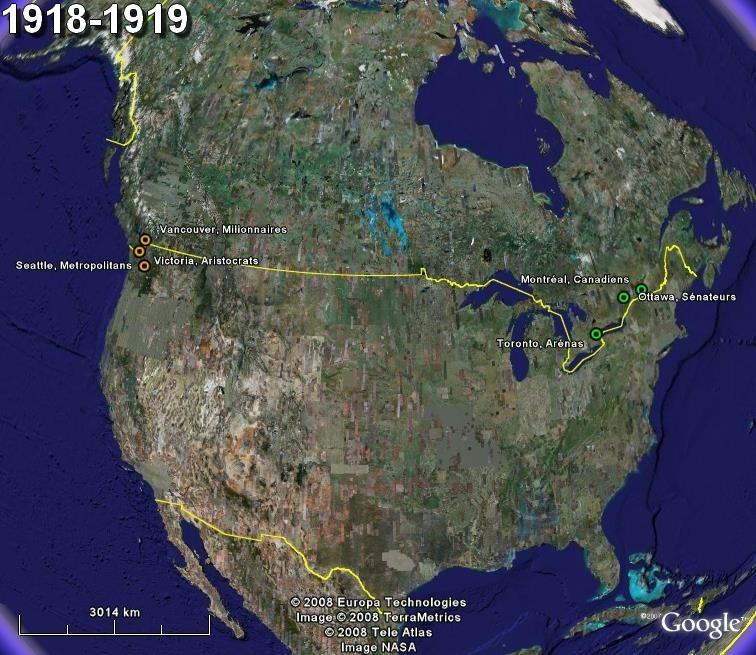 La saga du HOCKEY pro en Amérique du Nord  1918-110