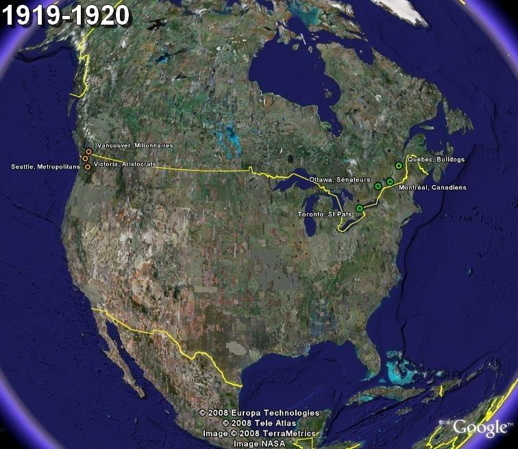 La saga du HOCKEY pro en Amérique du Nord  1919-110
