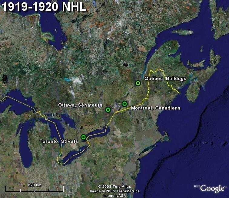 La saga du HOCKEY pro en Amérique du Nord  1919-111