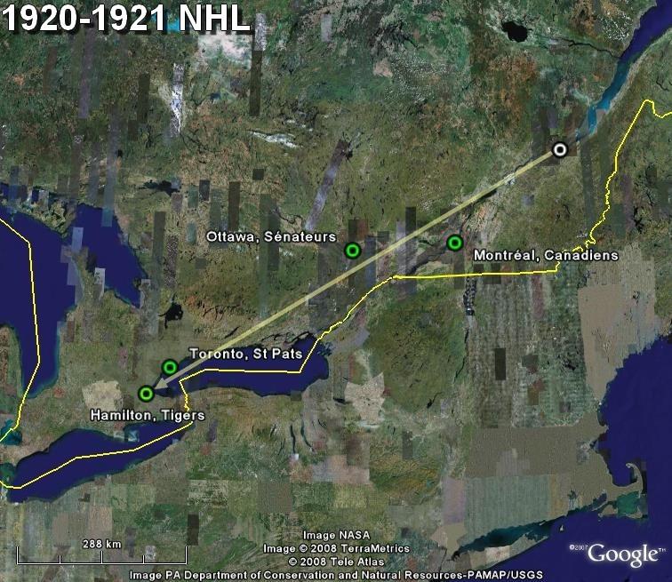 La saga du HOCKEY pro en Amérique du Nord  1920-110