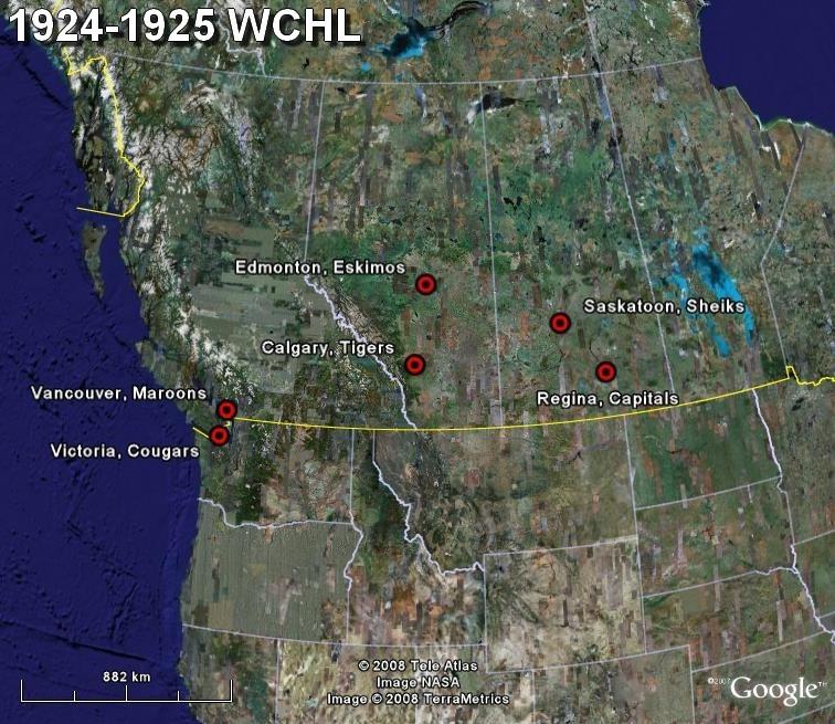 La saga du HOCKEY pro en Amérique du Nord  1924-111