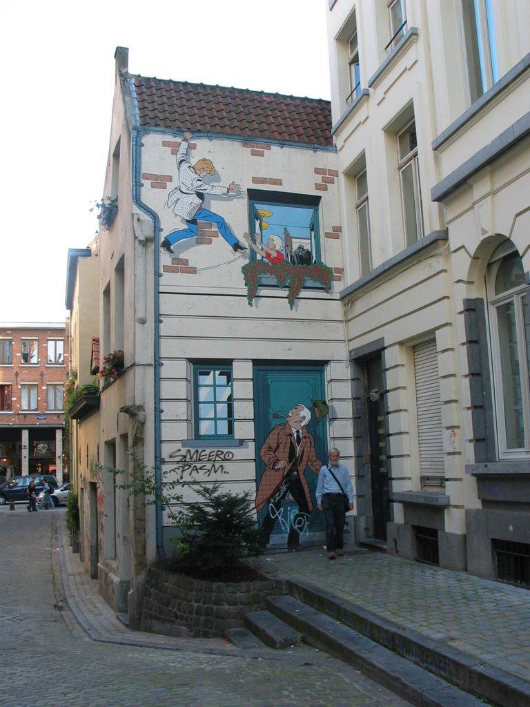 Les parcours BD de Bruxelles, Laeken et Anvers 21899710