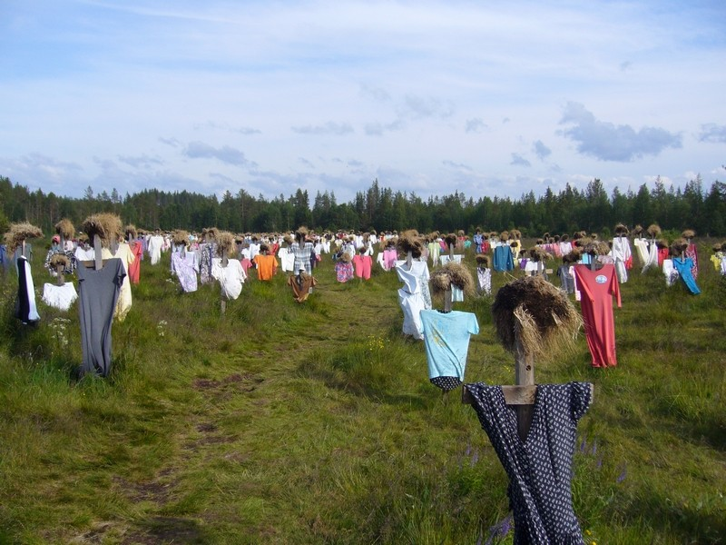 [Finlande] - Le Peuple Silencieux (oeuvre), Suomussalmi 45592810